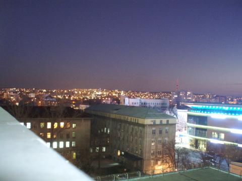 Vista desde el hospital de Ruse