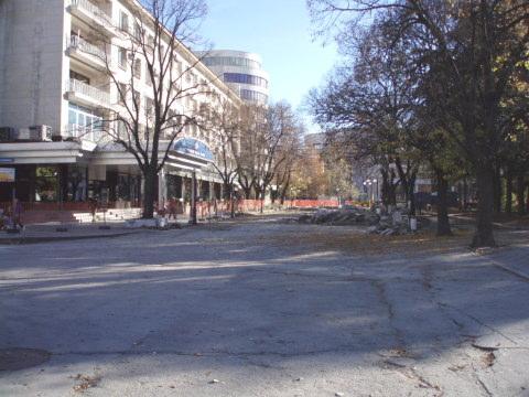 Reconstrucción de la Plaza Mayor de Ruse